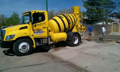 Busy Bee Concrete Delivery for D.I.Y. Jobs
