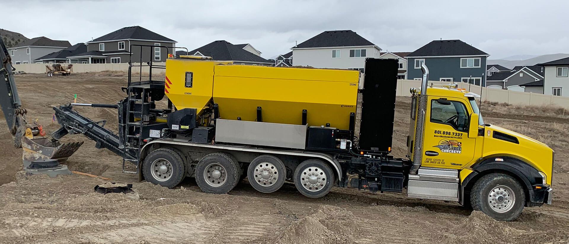 Busy Bee Concrete Volumetric Truck