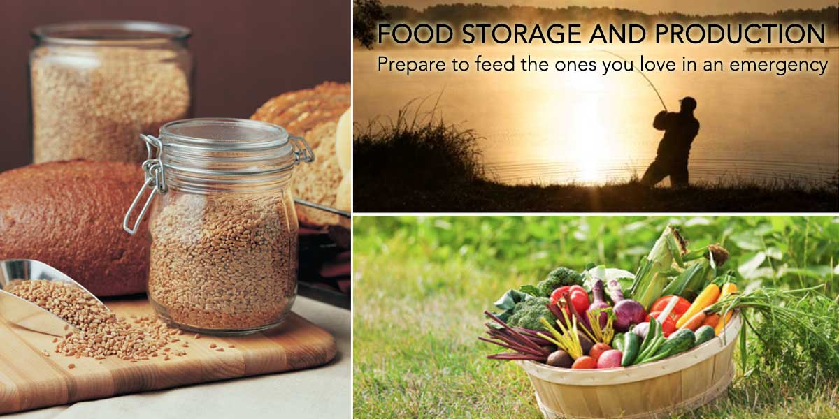 Emergency Food Storage and Production