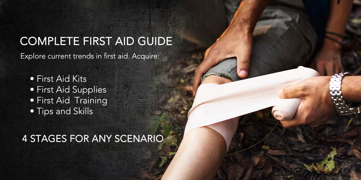Emergency First Aid Kits and Supplies