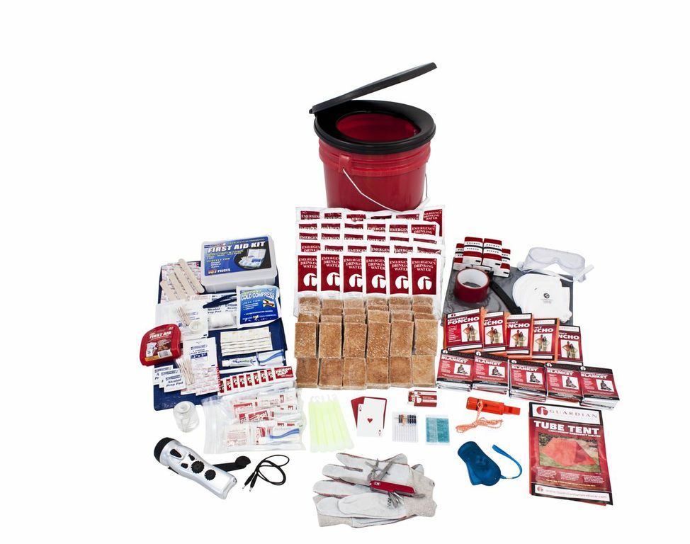 19 05 21 13 13 13 original okfp   5 person bucket survival kit