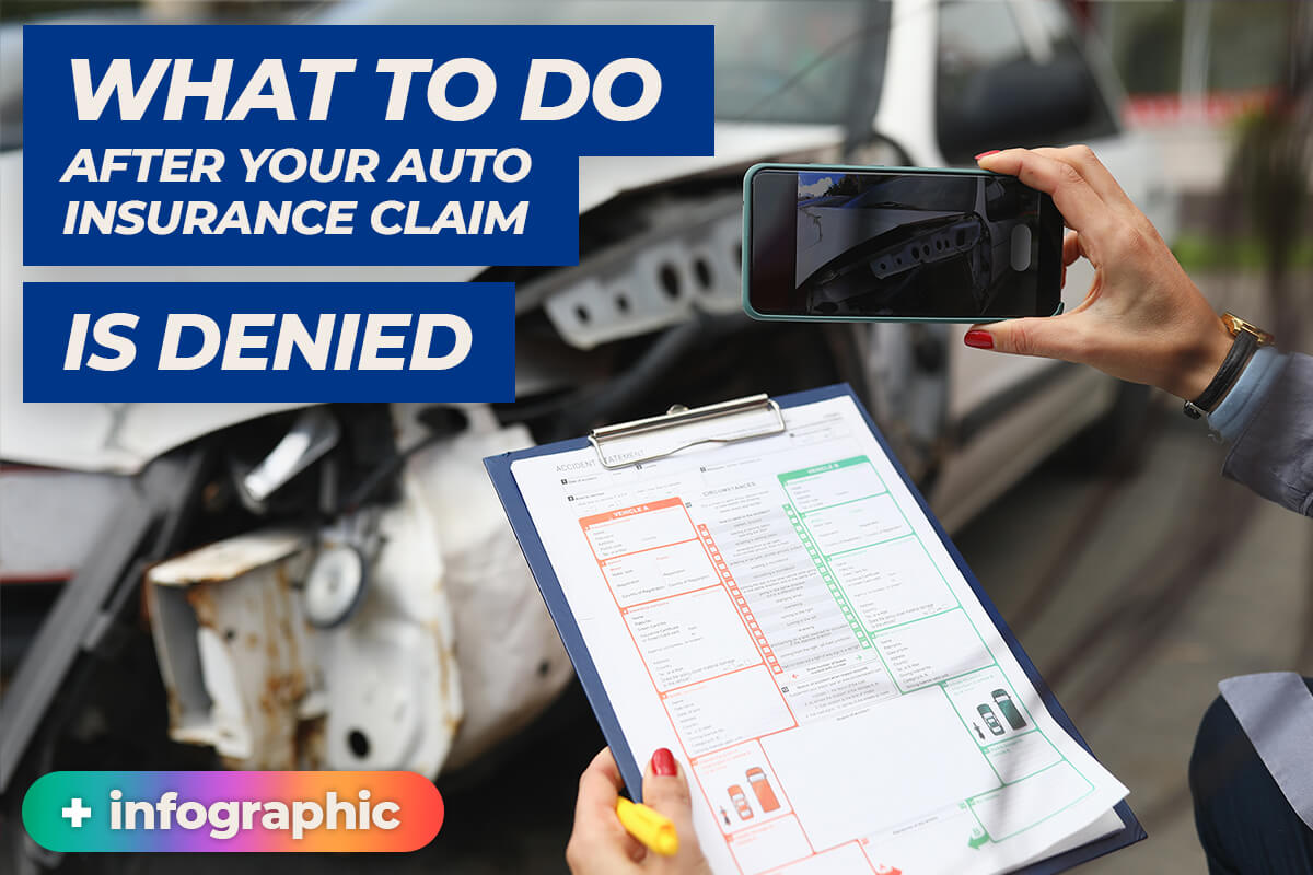 Auto insurance claim denial thumbnail infographic article phoenix protection group